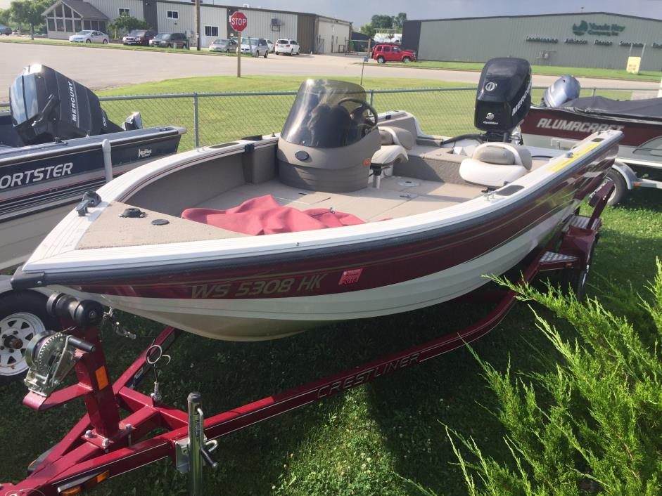 crestliner fishhawk 1750 boats for sale