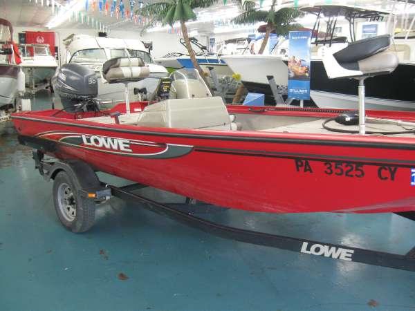 2007 Lowe 160 Stinger