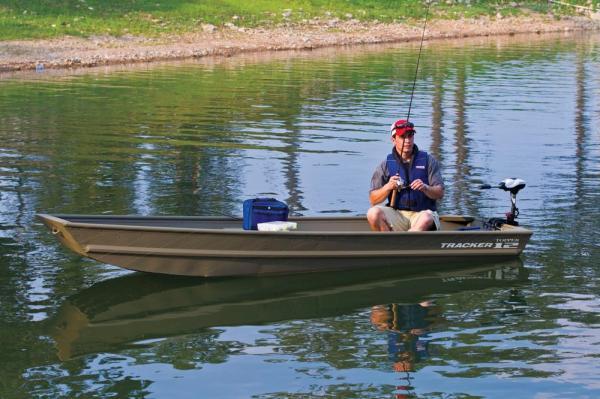 2013 Tracker Topper 1232 Riveted Jon Boat