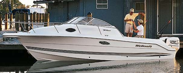 1998 Wellcraft 230 Coastal