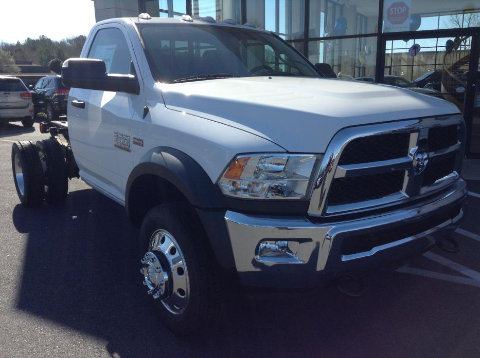 2015 Ram 4500 Chassis  Cab Chassis