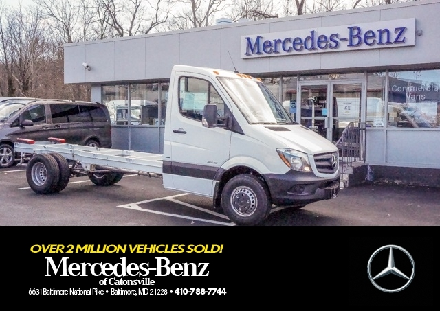 2016 Mercedes-Benz Sprinter 3500 Pickup Truck