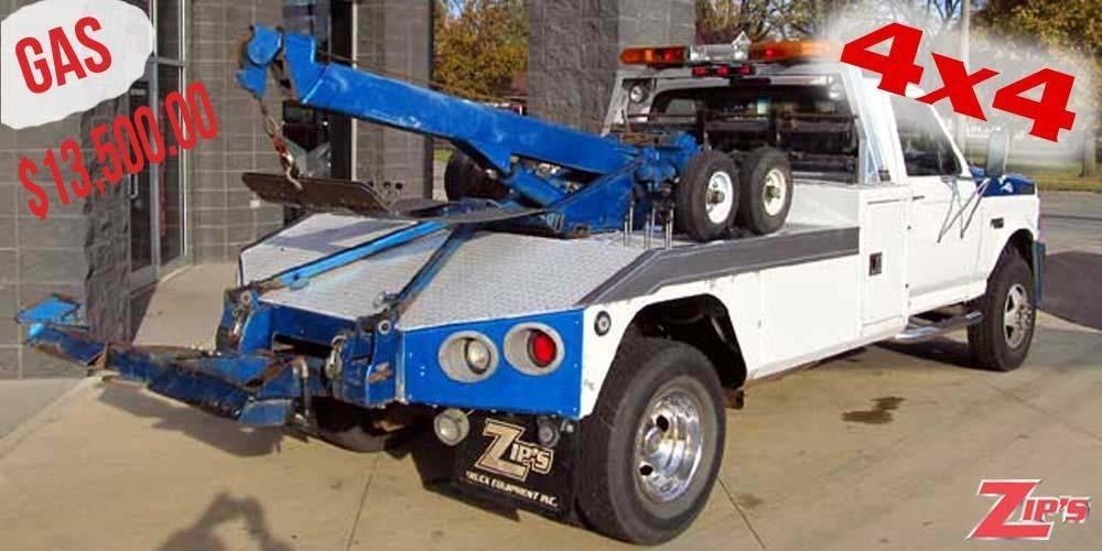 1997 Ford F350 Xlt Wrecker Tow Truck