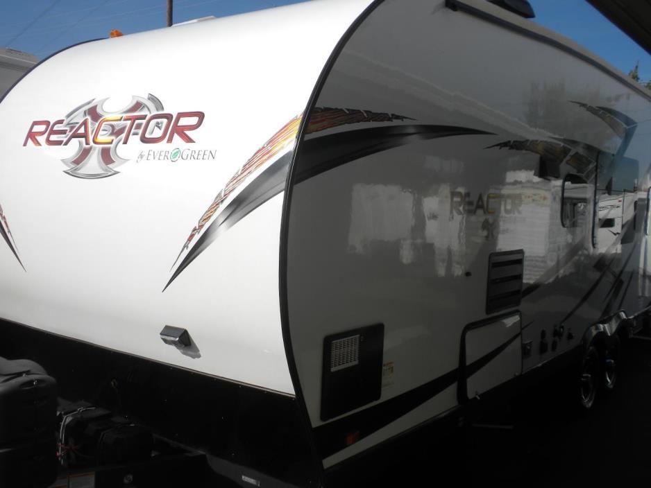 2015 Evergreen REACTOR 27FT TOY HAULER TRAILER