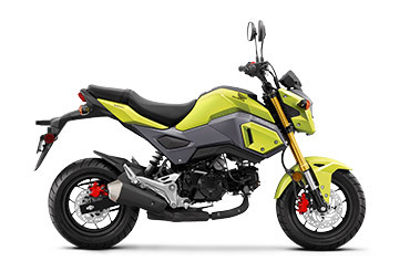 2017 Honda Grom Bright Yellow
