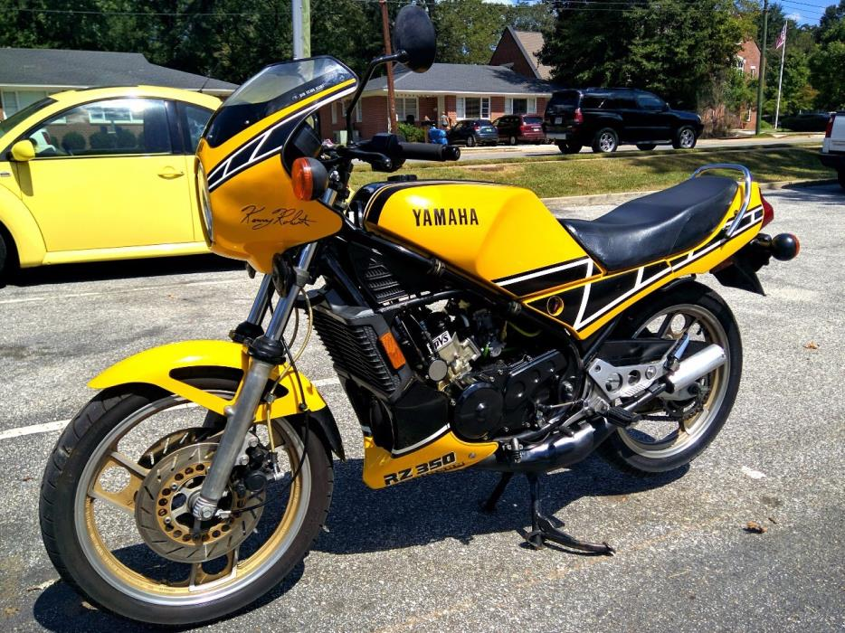 1984 rz 350 motorcycles for sale for Yamaha rz for sale