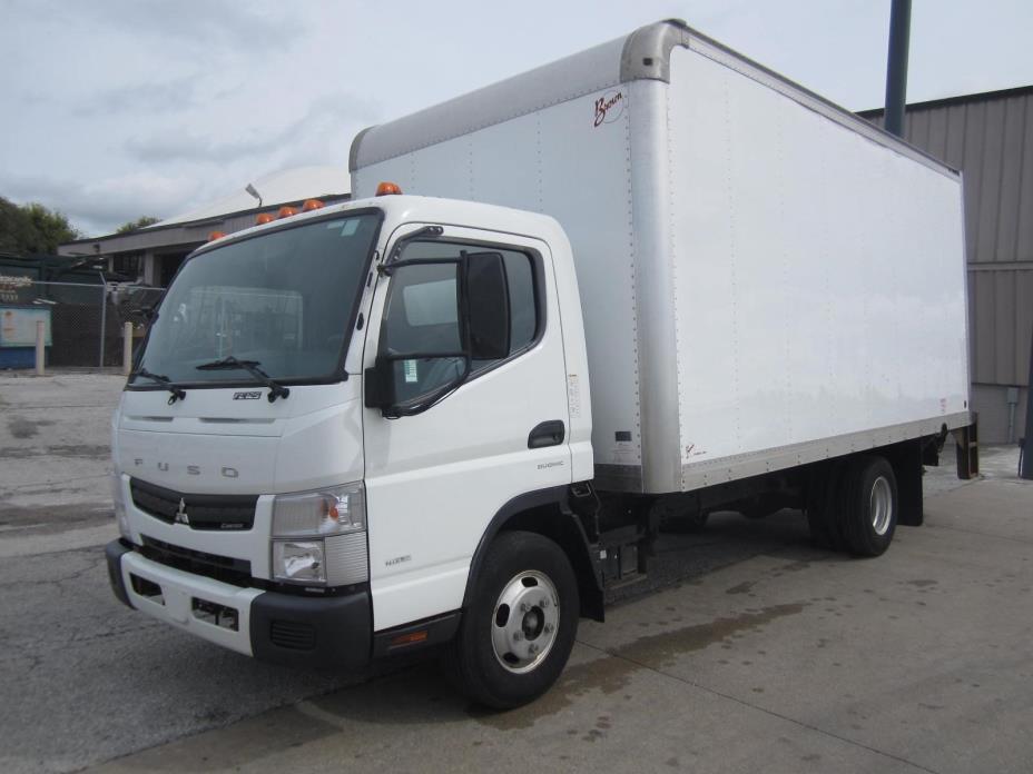 2012 Mitsubishi Fuso Fe  Box Truck - Straight Truck