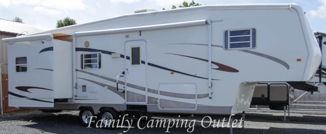 2006 Travel Supreme RIVER CANYON 34RLTSO REAR LIVING FIFTH WHEEL