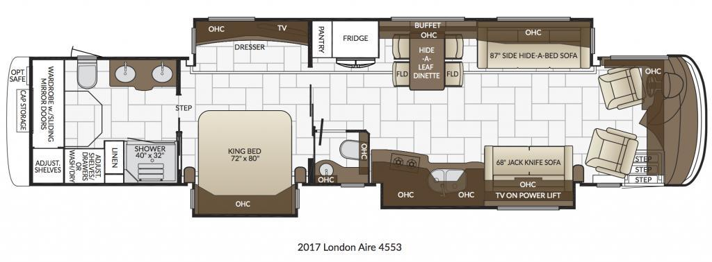 2017 Newmar London Aire 4553