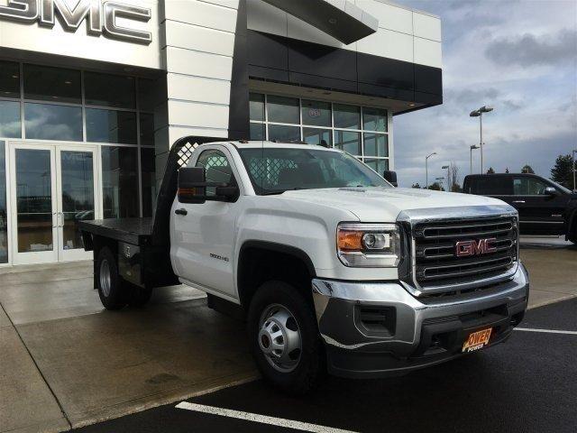 2016 Gmc Sierra 3500 Hd Flatbed Truck