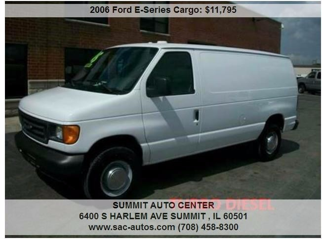 Ford E Series Cargo Cars For Sale In Illinois