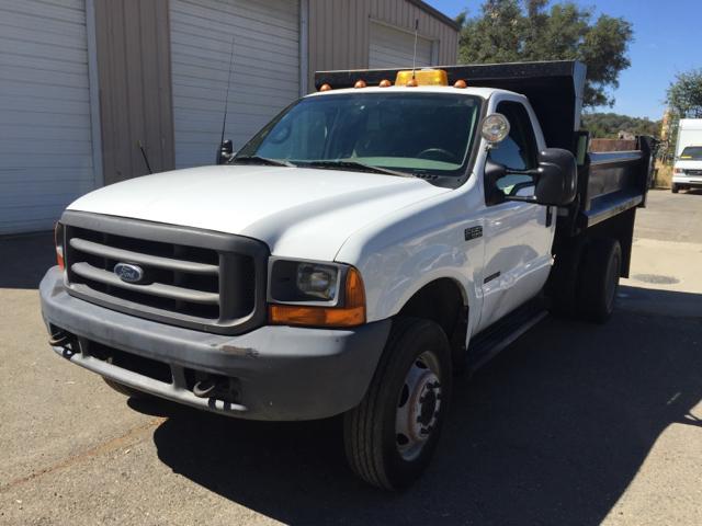 2000 Ford F-550  Dump Truck