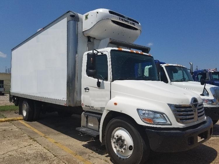 2010 Hino 338  Refrigerated Truck