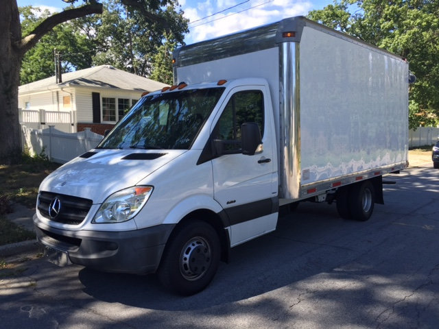 2010 Mercedes-Benz Sprinter 3500 16 Foot Box Truck Box Truck - Straight Truck