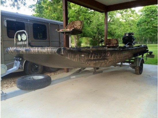 2014 Gator Trax 17-54 Huntdeck