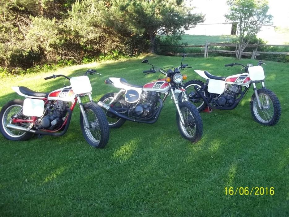 1976 Yamaha XT500 H