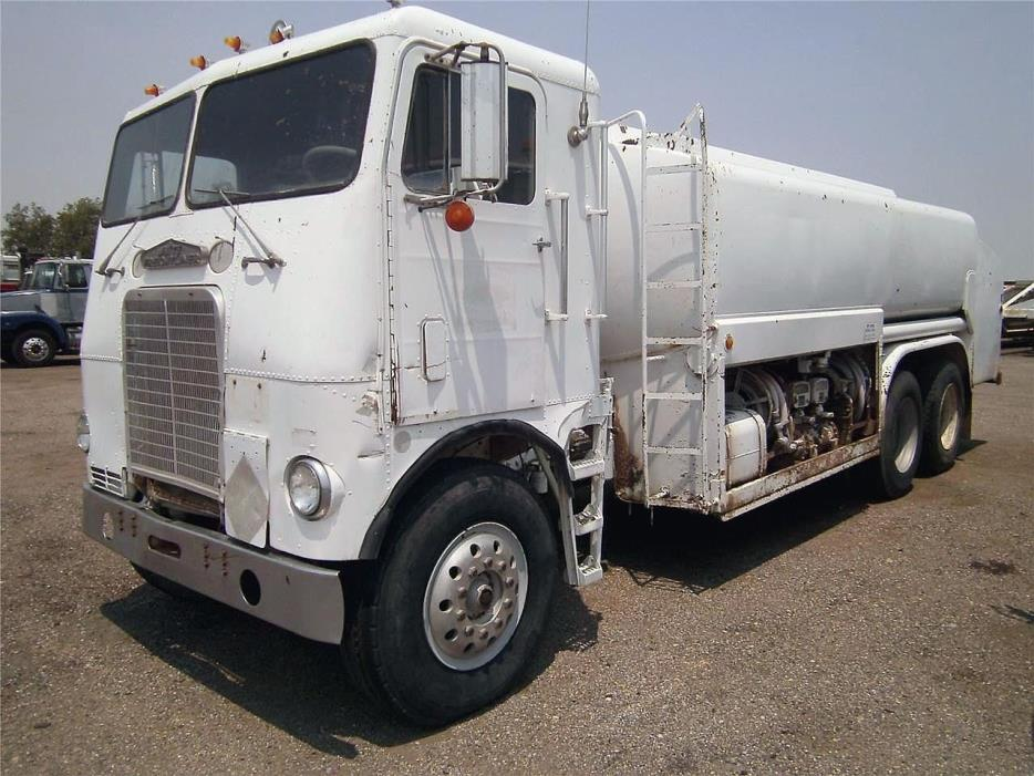 1960 White Wg64 Fuel Truck - Lube Truck