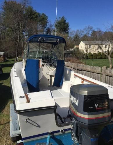 1988 Aquasport 222 Express Fisherman