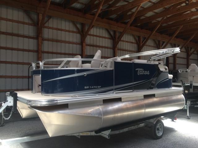 2015 Tahoe Pontoons Sport Bow Fish 14'