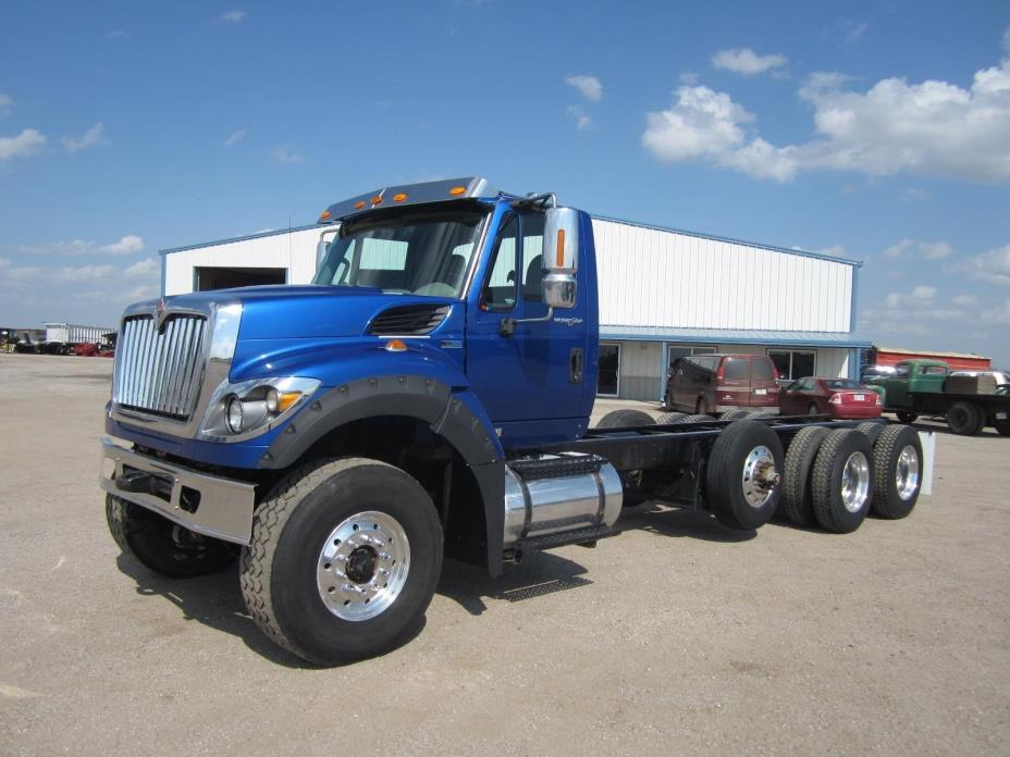 2012 International Workstar 7600 Cab Chassis