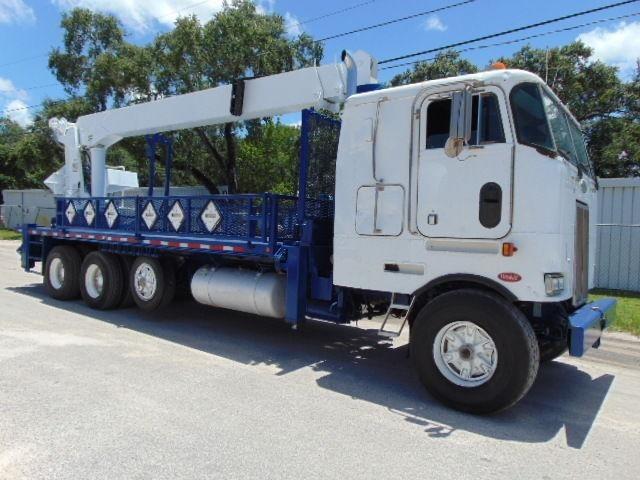 2001 Peterbilt 362 Crane Truck