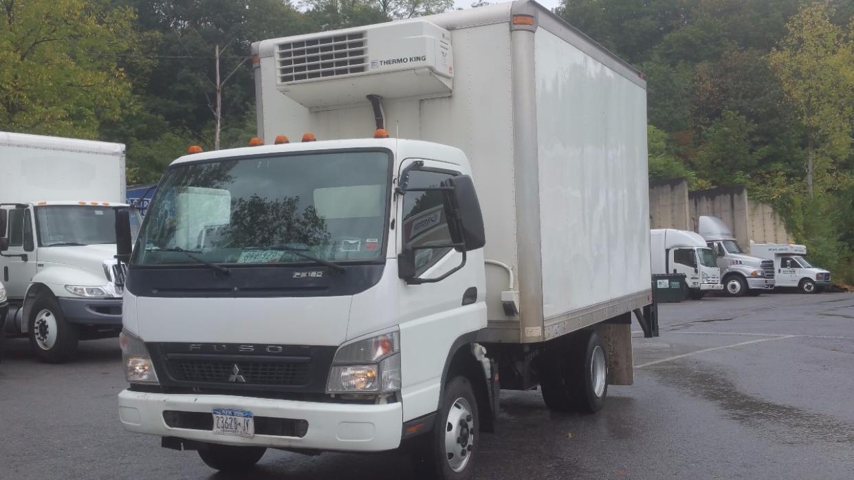 2008 Mitsubishi Fuso Fe180 Refrigerated Truck