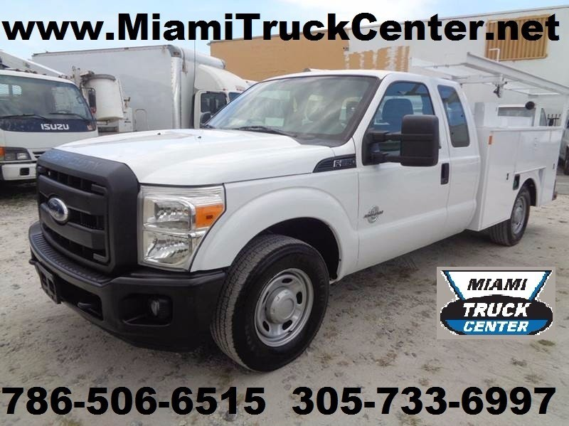 2012 Ford F250 Mechanics Truck