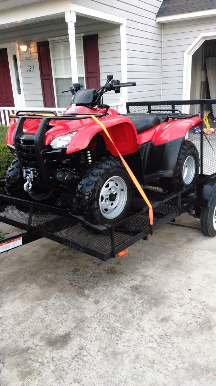 2012 honda fourtrax rancher 4x4 motorcycles for sale for Honda 420 rancher for sale