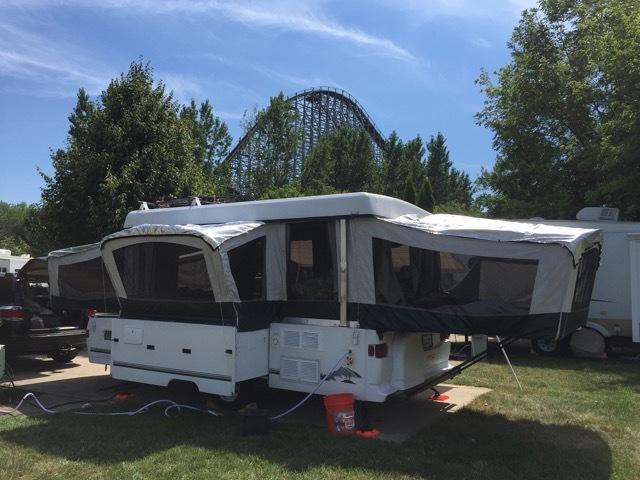 1998 Coleman BAYSIDE ELITE & Coleman Elite Pop Up Camper RVs for sale
