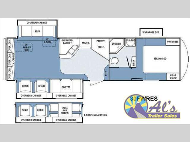 2014 Winnebago Industries Towables Lite Five 30FWRES
