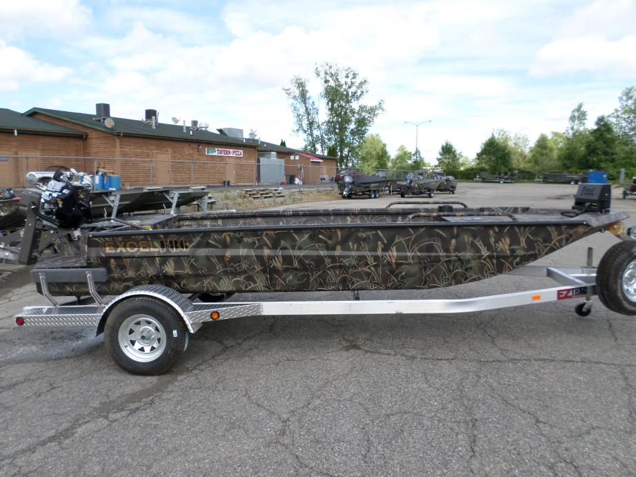 Excel f86 boats for sale Aluminum boat and motor packages