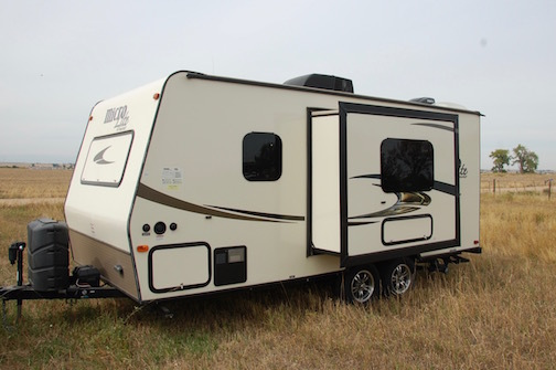 2015 Forest River FLAGSTAFF MICRO LITE 21FBRS
