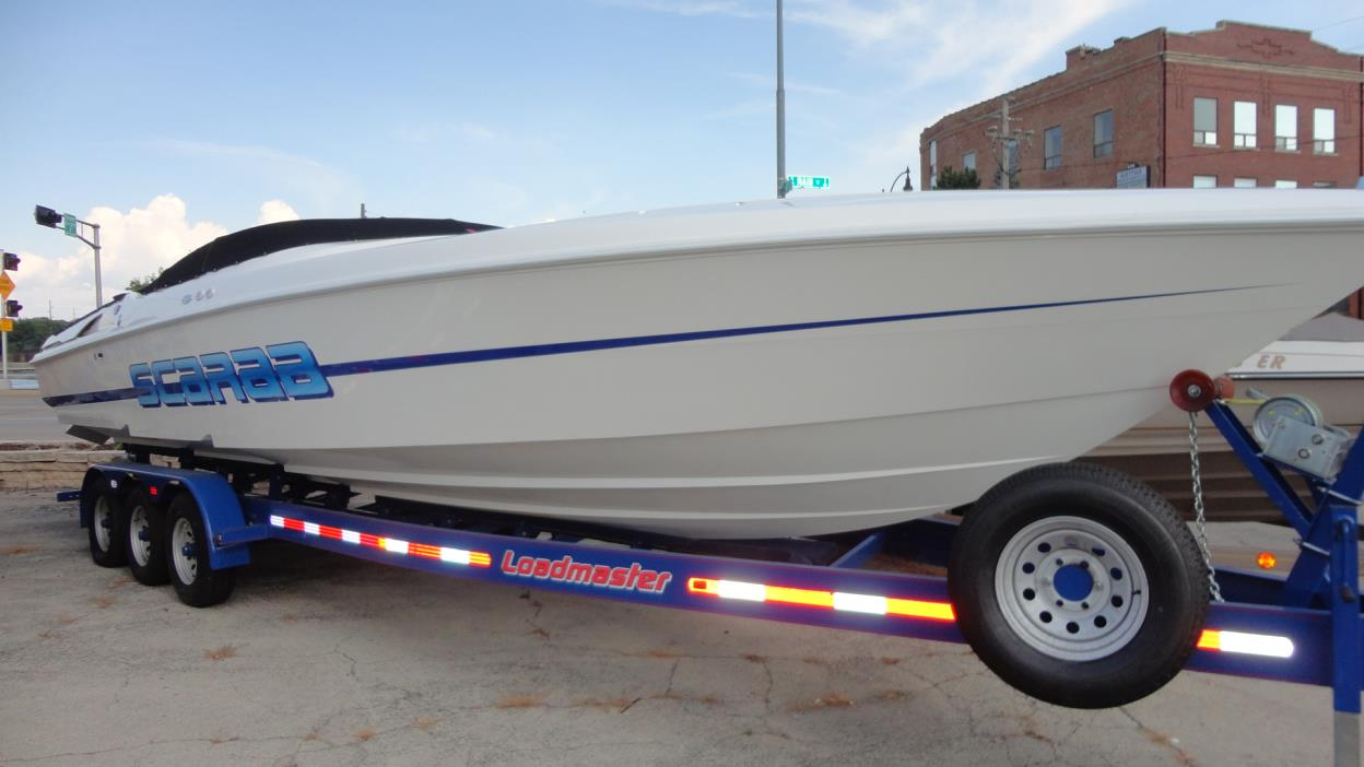 Scarab Cigarette Boat Boats For Sale