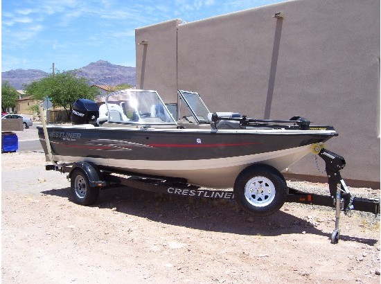 Crestliner fish hawk boats for sale for Fish hawk x4