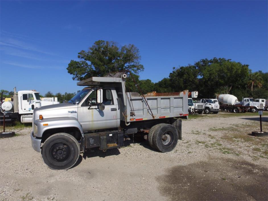 1991 Gmc 7000 Dump Truck