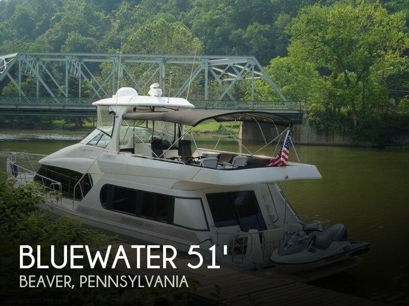 1998 Bluewater Yachts 510 Motoryacht