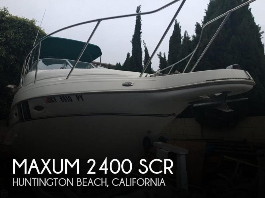 2002 Maxum 2400 SCR
