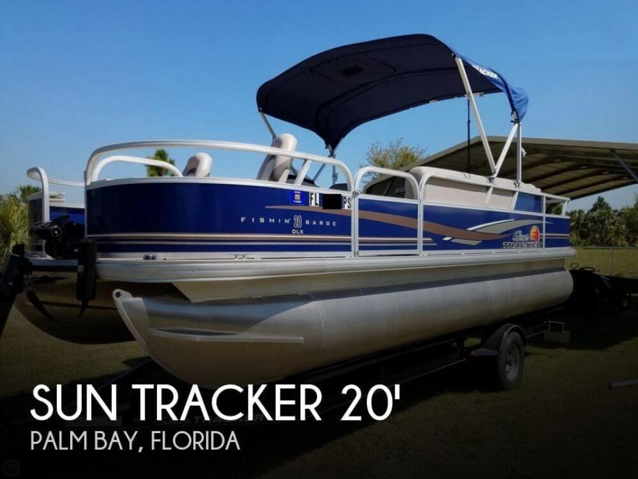 2014 Sun Tracker Fishin Barge 20 DLX