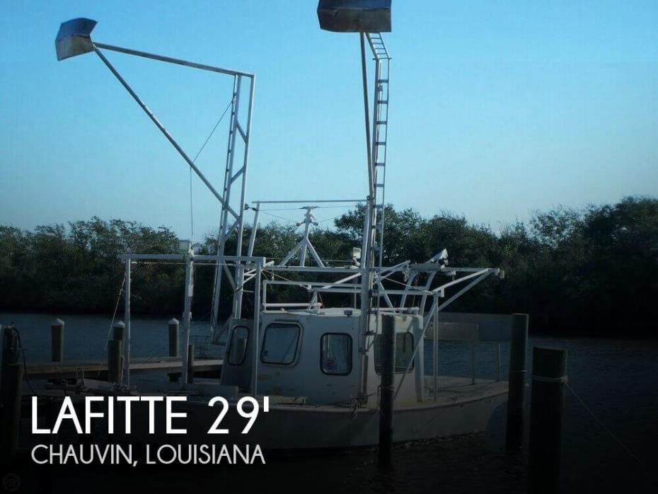 1973 Lafitte 29 Shrimper Skimmer
