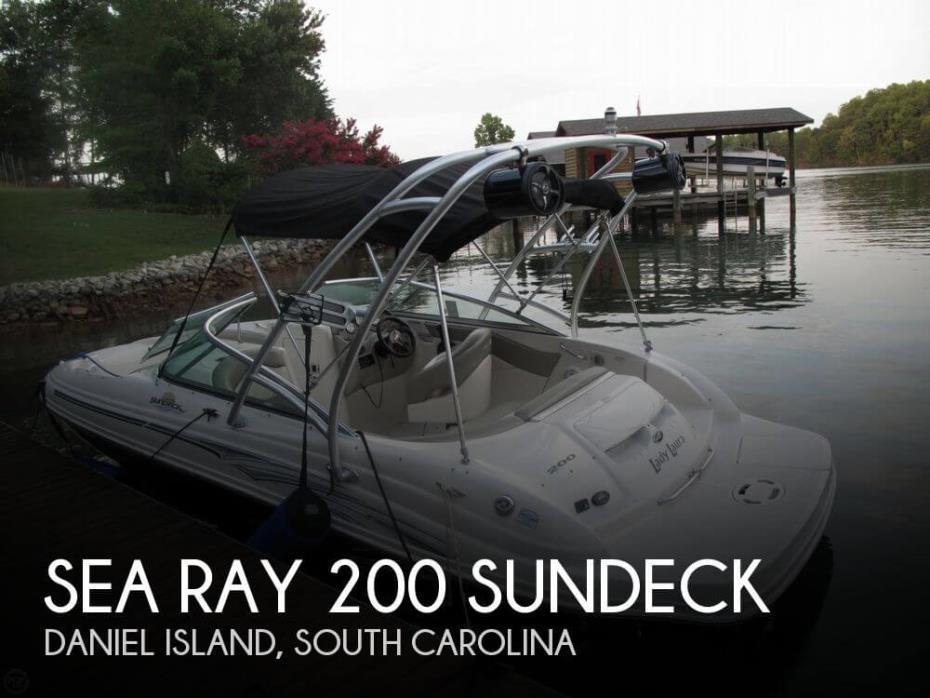 2005 Sea Ray 200 Sundeck