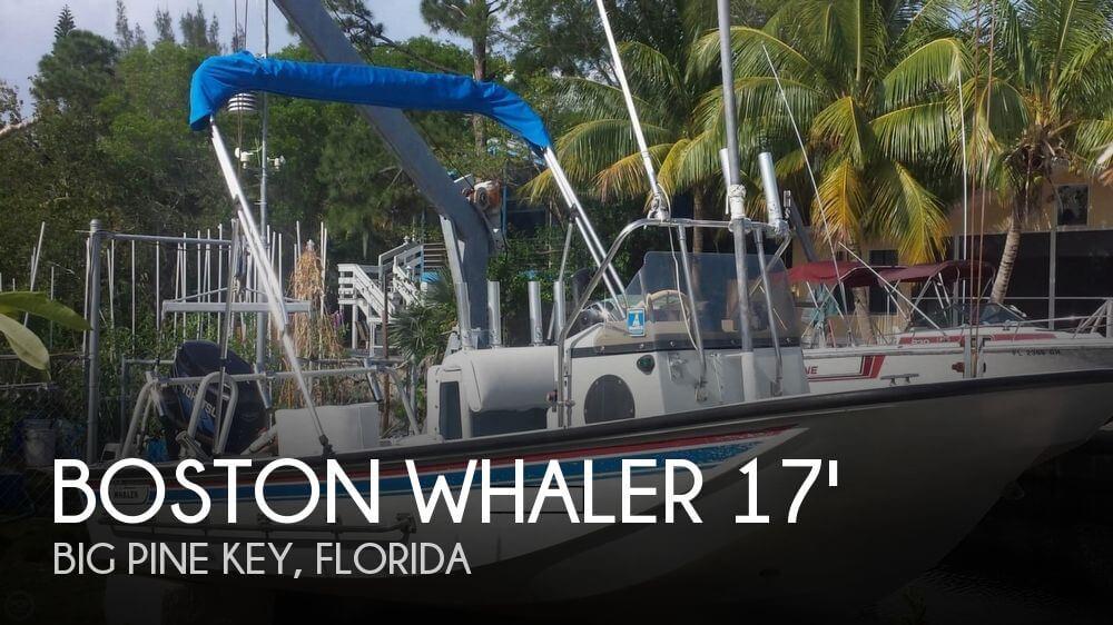 1986 Boston Whaler 17 Guardian