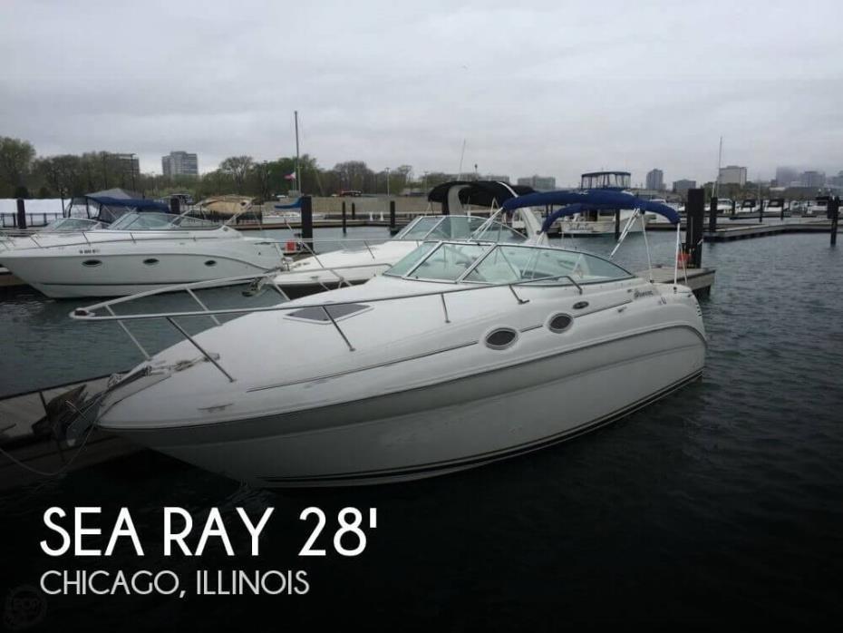 2002 Sea Ray 260 Sundancer