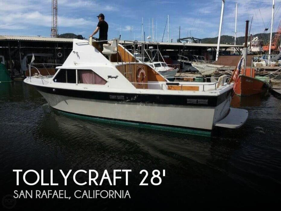1969 Tollycraft 28 Sportfish
