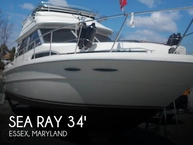 1984 Sea Ray 340 Convertible