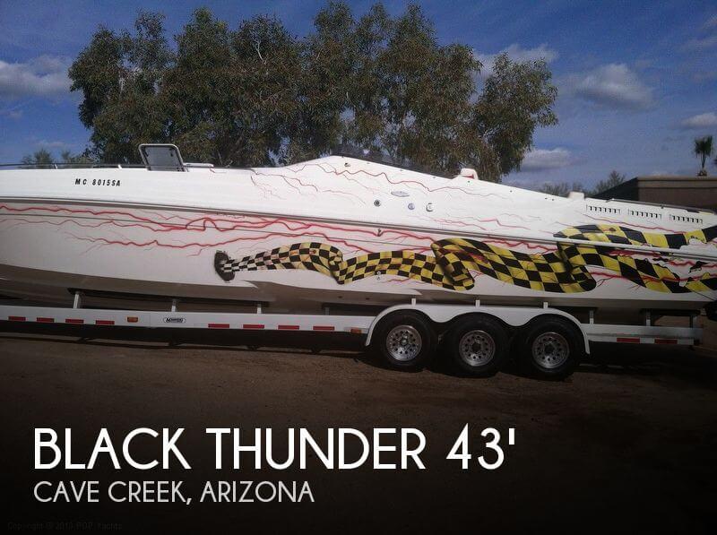 1997 Black Thunder 43 Offshore