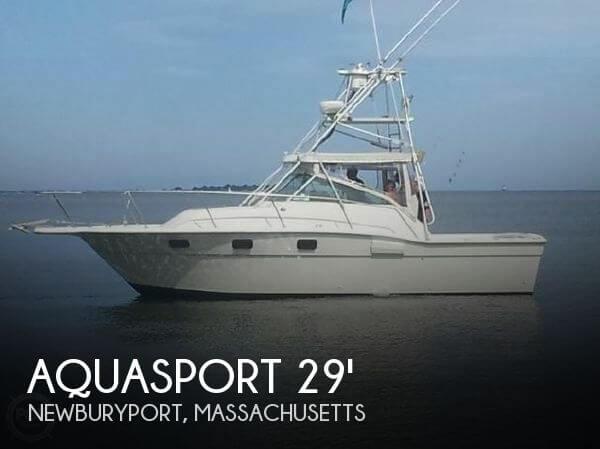 1986 Aquasport 290 Express Fisherman