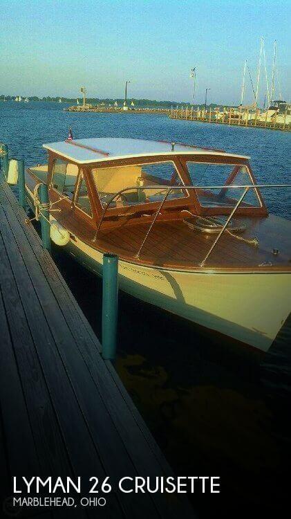 1967 Lyman 26 Cruisette
