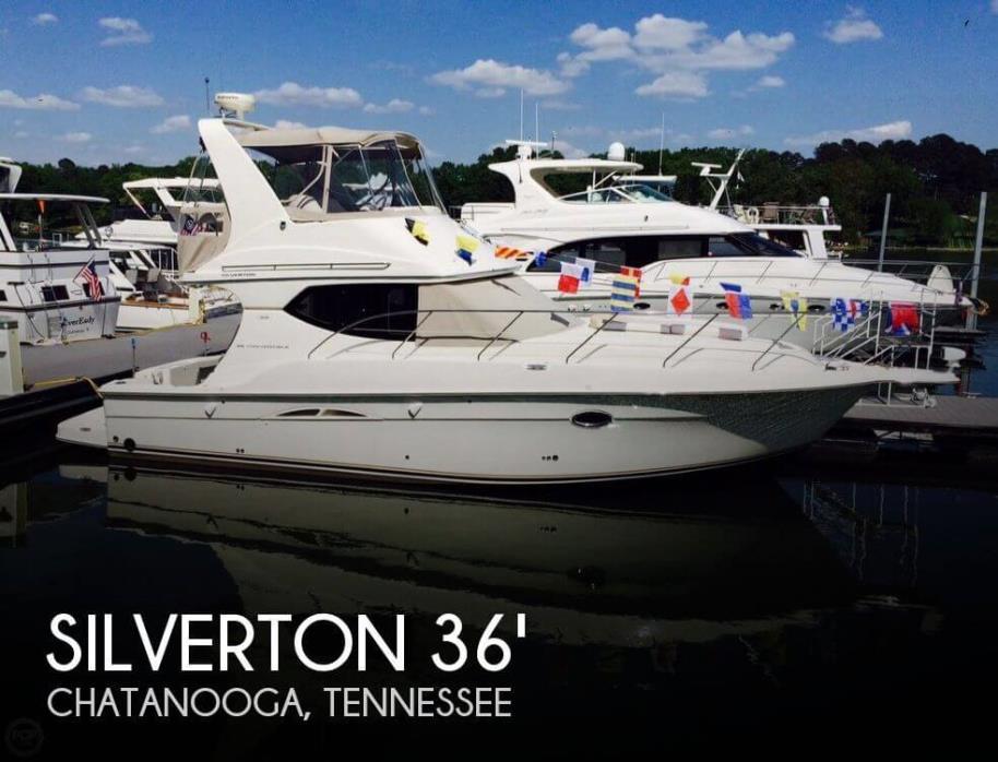 2007 Silverton 36 Convertible