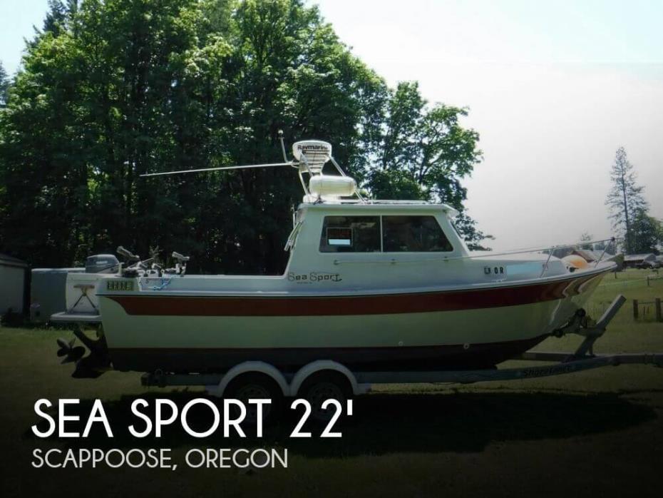 1991 Sea Sport 2200 Sportsman