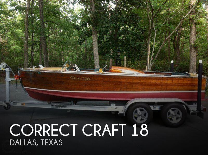 1958 Correct Craft 18